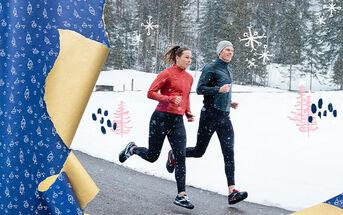 Winter running gear for the blizzard braver