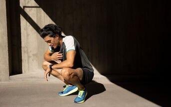 Cramping pains after a run