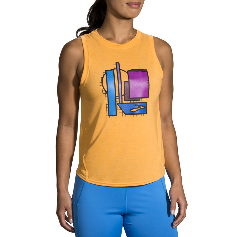 Distance Graphic Tank image number 2