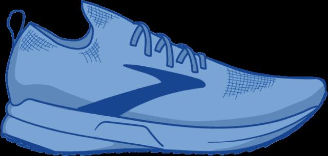 Illustration of a StealthFit shoe
