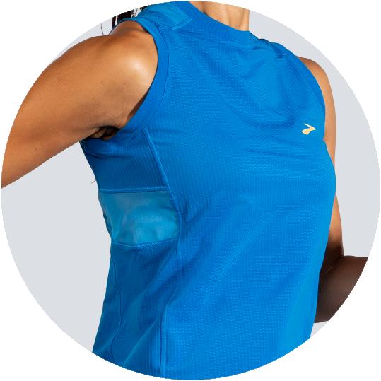 sweat wicking stretchy fabric