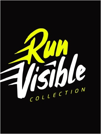 Run Visible in Bright lettering