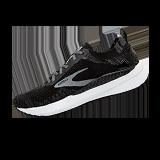 Women's Bedlam 3 running shoe (black with white midsole)