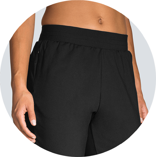 wide waistband for extra comfort