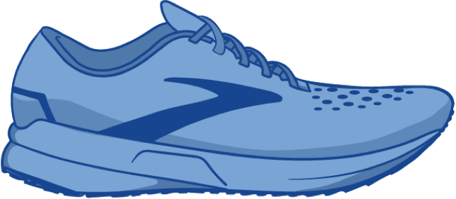 Illustration of a Classic Fit shoe