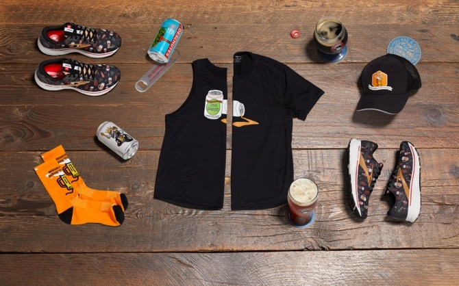 Run Hoppy apparel and shoes