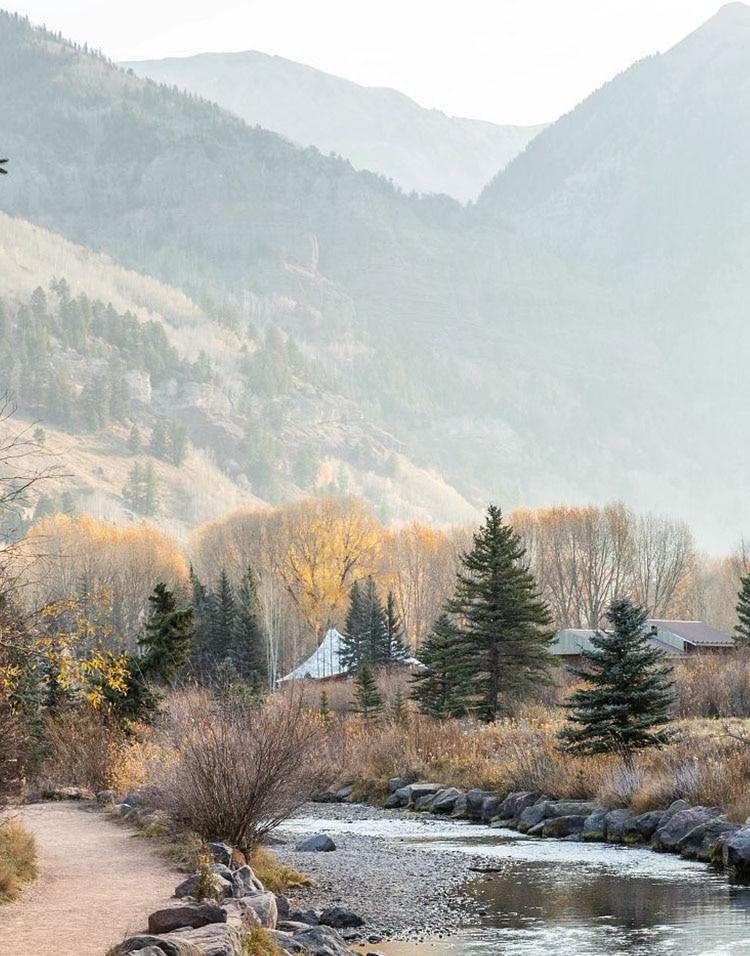 Distance Short Sleeve background