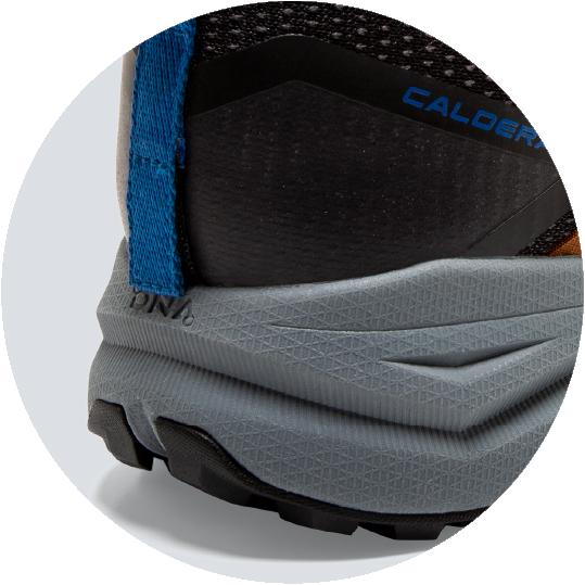 BioMoGo technology provides adaptable grip for all terrain comfort