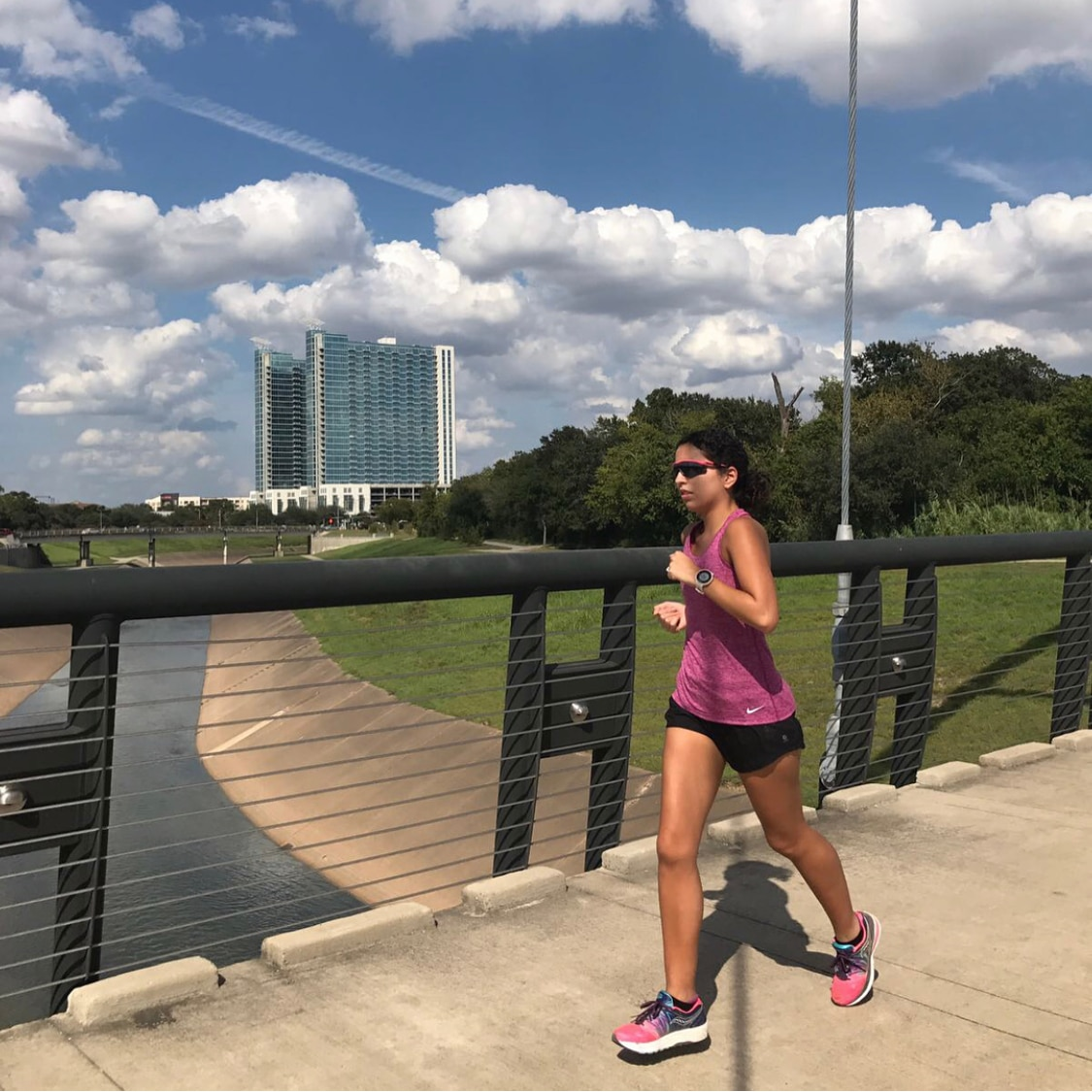 Emilia Benton Running