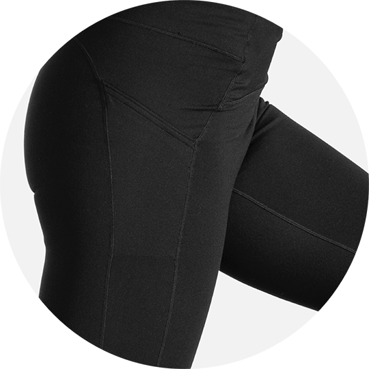 stretchy fabric for max support