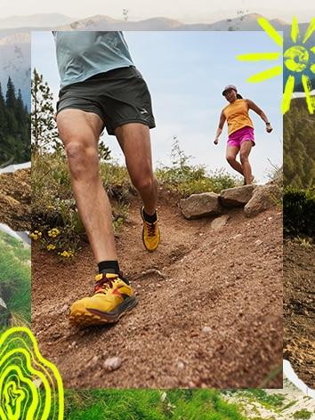 Running in the Cascadia 16