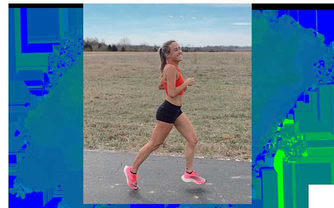 Alexa Yatauro running