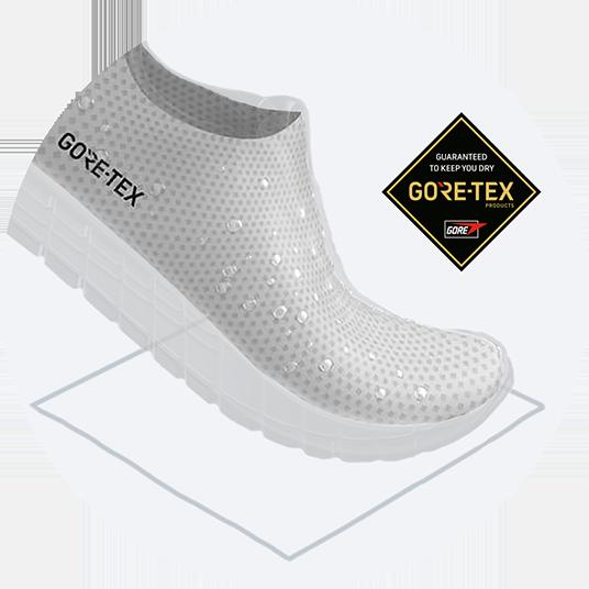 Waterproof GORE-TEX® upper