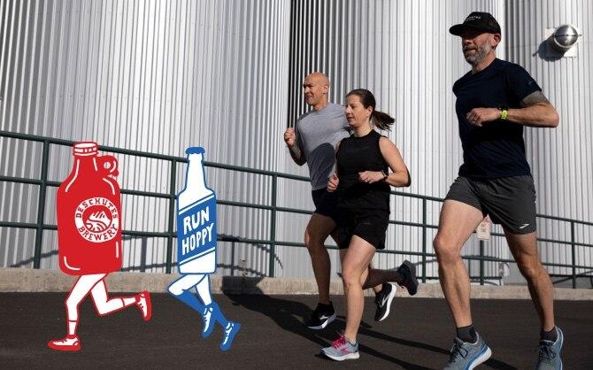 3 runner running