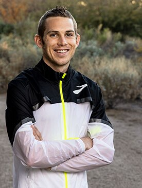 Brooks athlete CJ Albertson