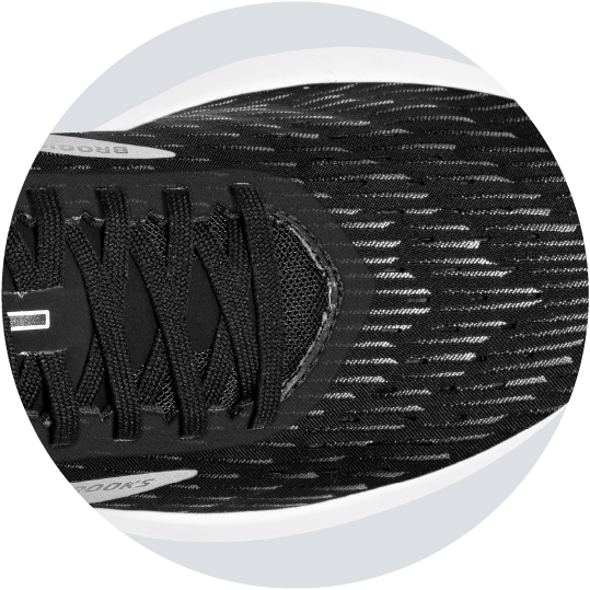 Breathable stretch woven upper