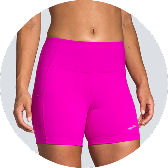Short tights with high waist band