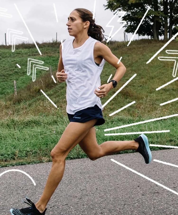 Des Linden running