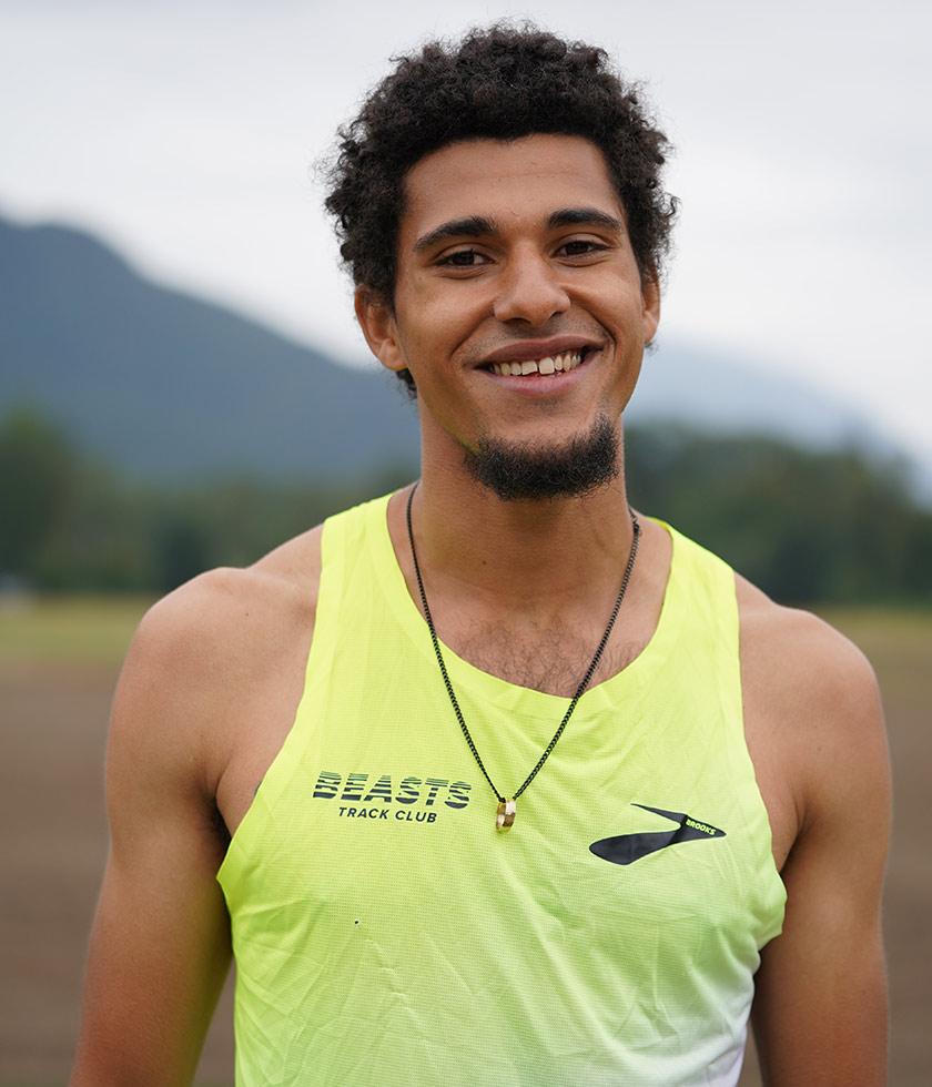 Brooks pro runner Izaic Yorks