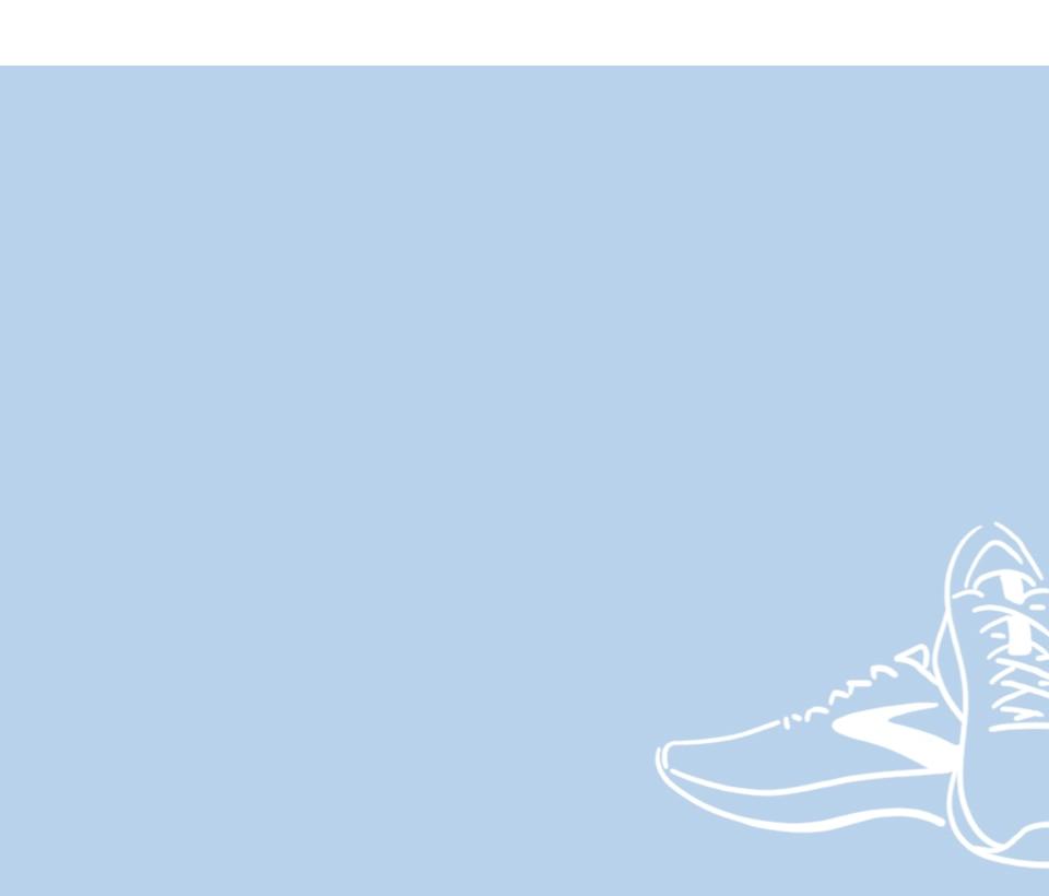 illustration of Brooks shoes