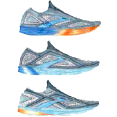 A sketch of a futuristic Brooks shoe