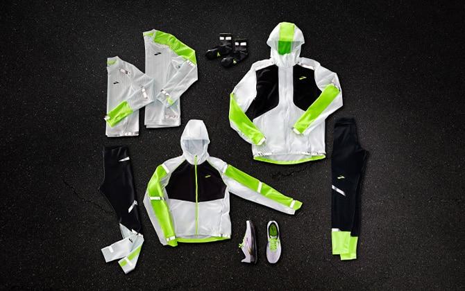 The Run Visible apparel collection