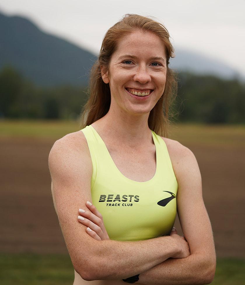 Brooks pro runner Allie Buchalski
