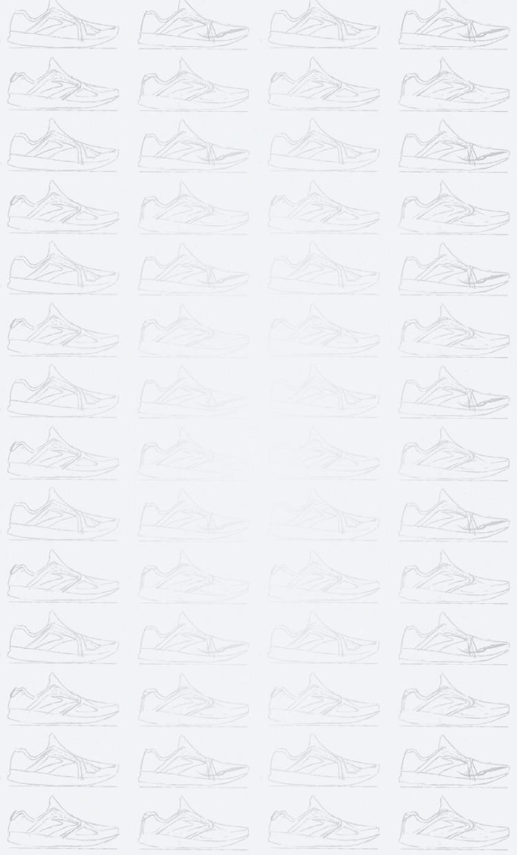 Illustrated shoe background