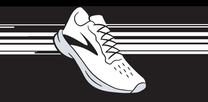 Illustration eines Laufschuhs