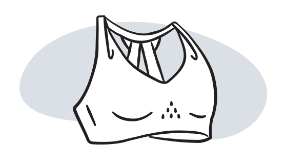 illustration d'une brassière