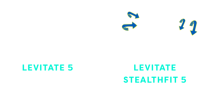 Comparing normal vs. stealth fit