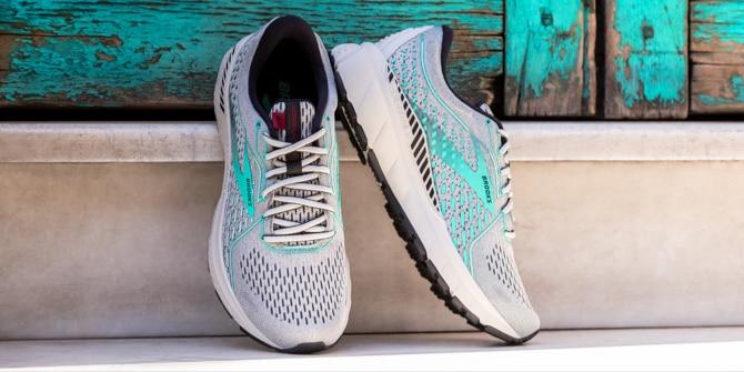 The Brooks Adrenaline GTS 1 shoe