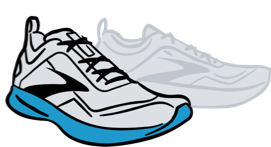 Brooks shoe