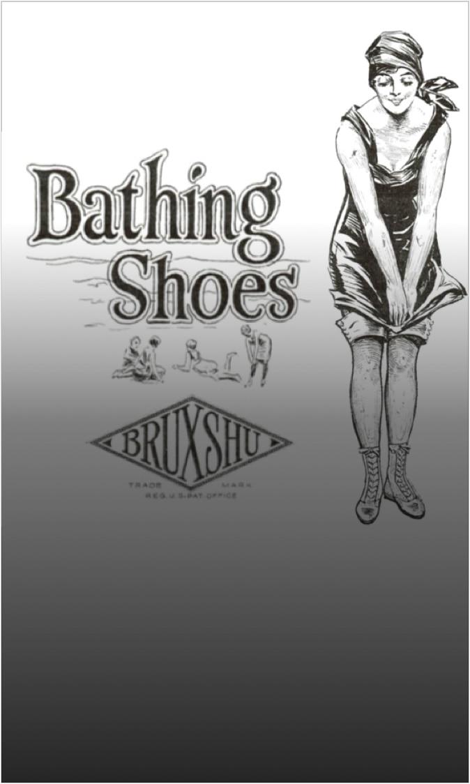 Bathing shoes