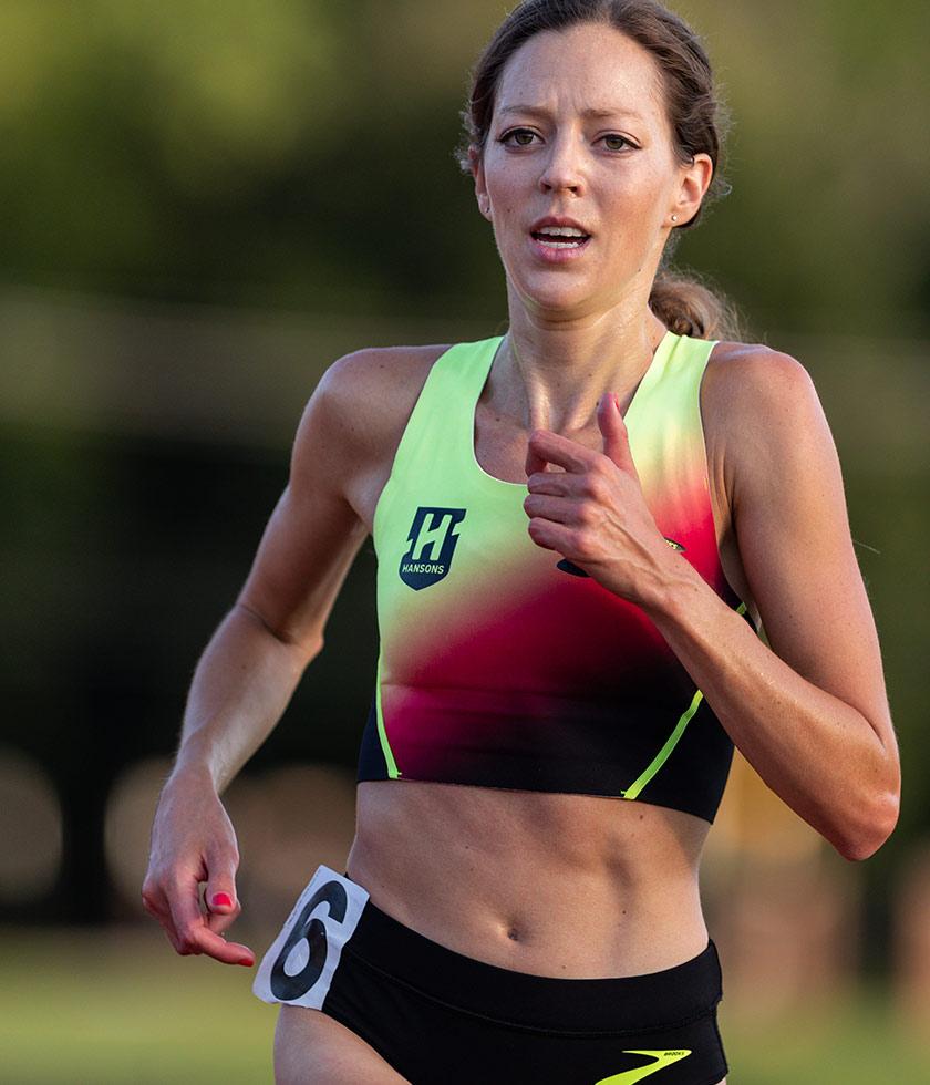 Brooks pro marathoner Natosha Rogers