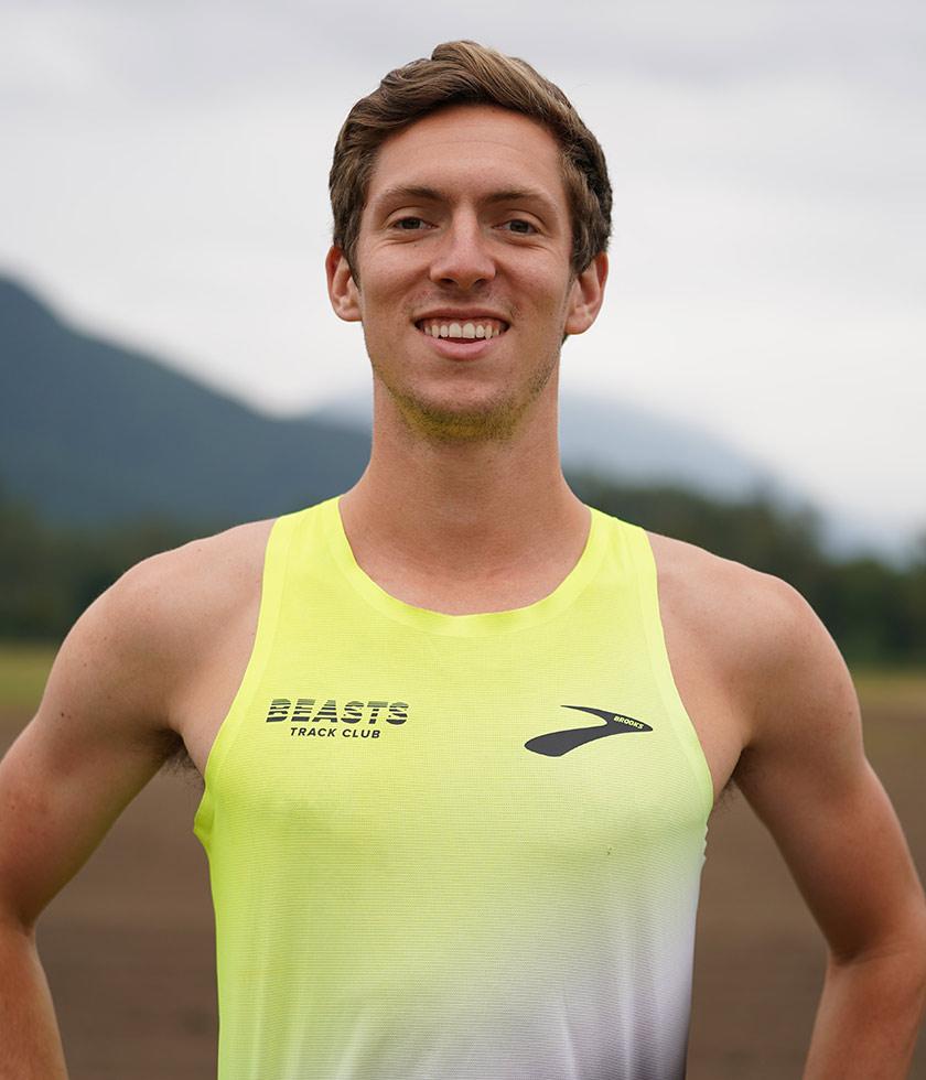 Brooks pro runner Henry Wynne