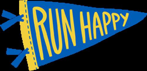 Run Happy Flag