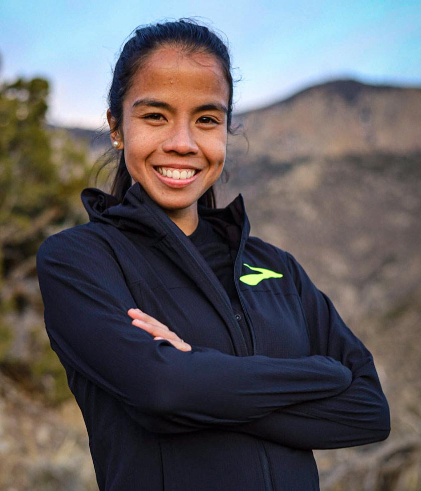 Brooks pro runner Marta Pen Freitas Pires