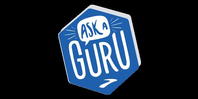 Ask a guru banner