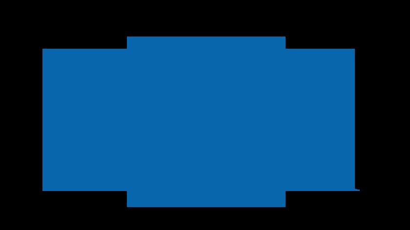 Abbildung eines Kartons mit Beinen.