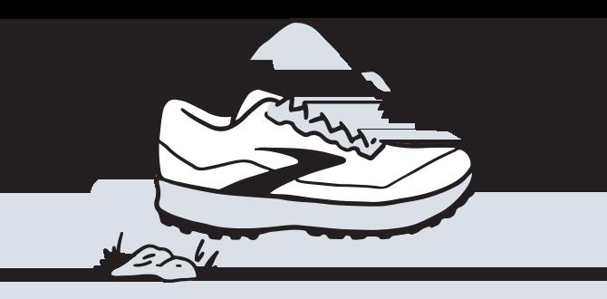 Illustration eines Trail-Schuhs