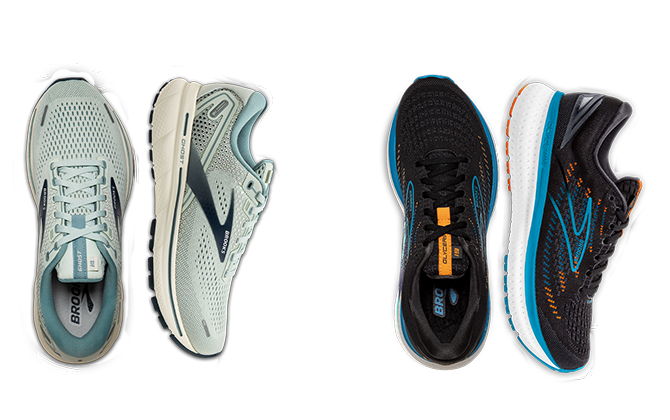 Two pairs of Ghost 14s separated by an illustrated arrow.