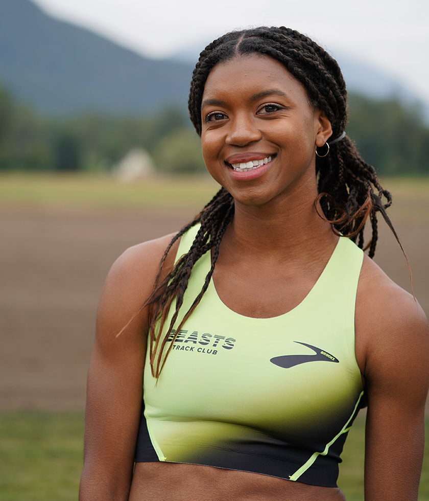Brooks pro runner Nia Akins