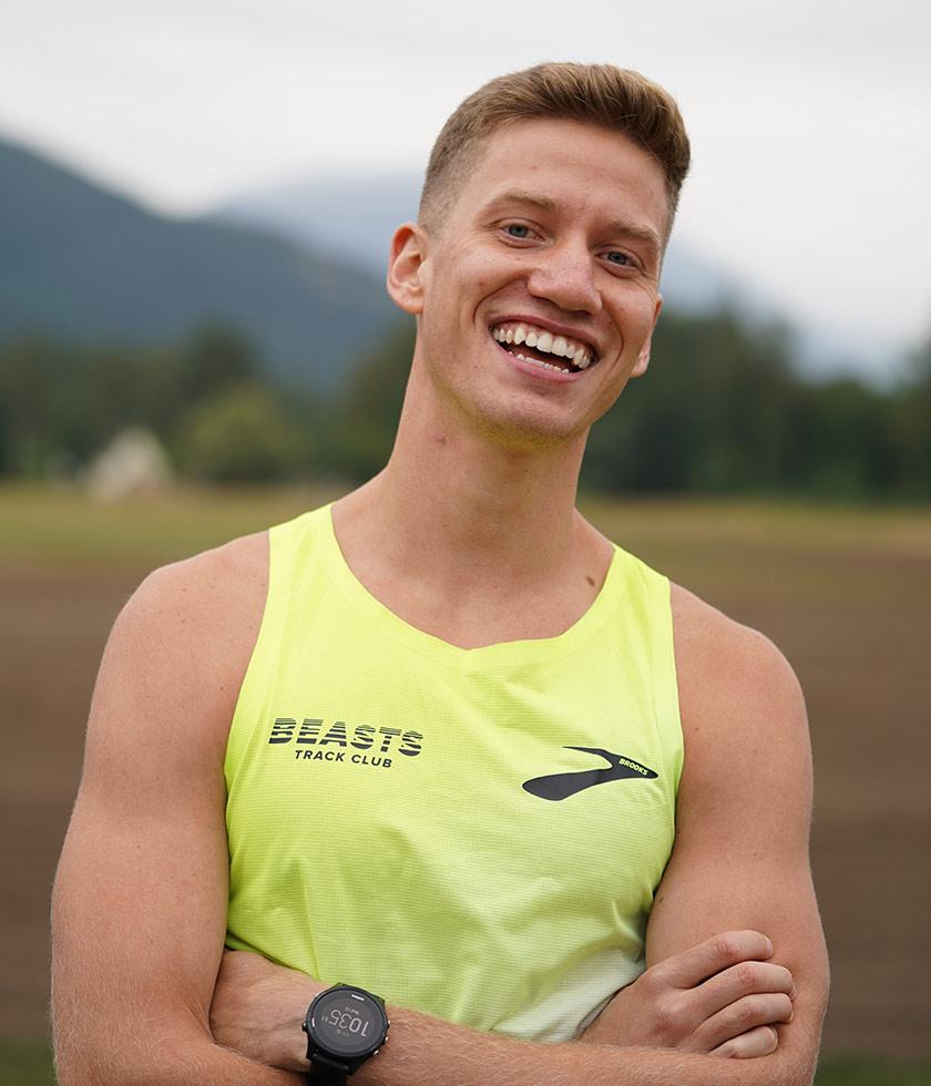 Brooks pro runner Brannon Kidder