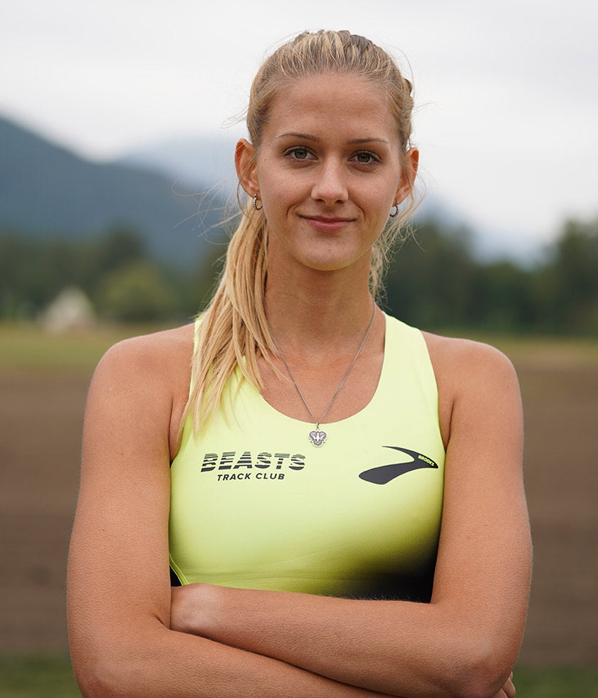 Brooks pro runner Karisa Nelson
