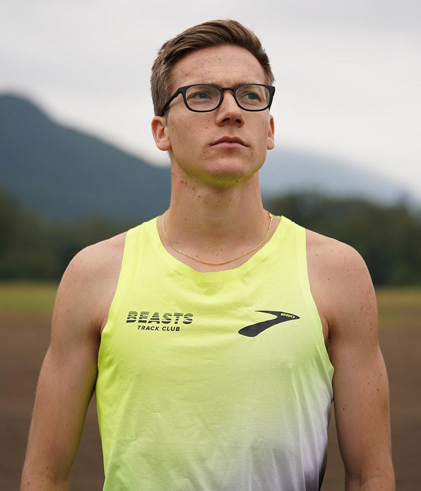 Brooks pro runner David Ribich