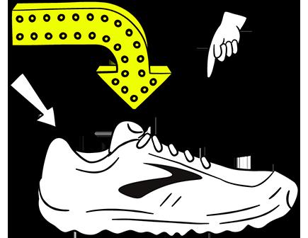Illustrazione di una scarpa