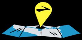 Ilustración del mapa del localizador de tiendas