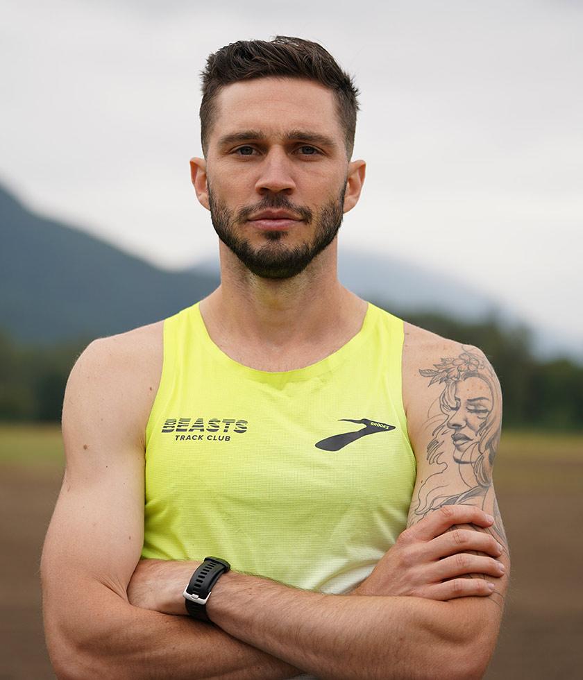 Brooks pro runner Drew Windle